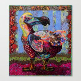 Polka Dodo Canvas Print