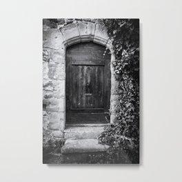 Doors of the World | Wooden Door in France, Europe | Black & White | Travel Photography | Photo Print | Art Print Metal Print