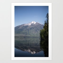 Reflect on Yourself Art Print