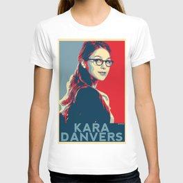 Kara Danvers POP ART Poster T-shirt