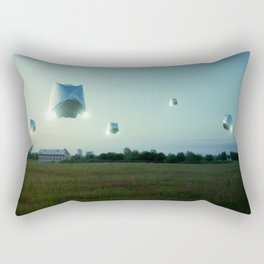 Run n Hide_Color Rectangular Pillow