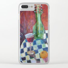 Meeting of the Spirits Clear iPhone Case