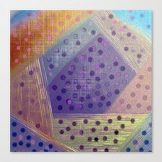 Soft Geometry Canvas Print