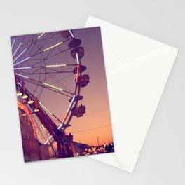 Midway Sunset Stationery Cards
