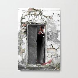 CRETAN DOOR no3-c Metal Print