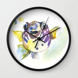 Blowfish Wall Clock