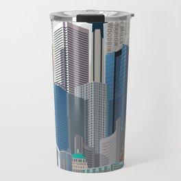 Toronto Skyline wide Travel Mug