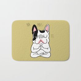 Namaste French Bulldog Bath Mat
