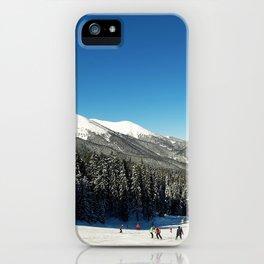 ski slope iPhone Case