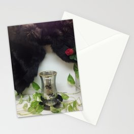Mink: Wedding/Anniversary (w/rose) Stationery Cards