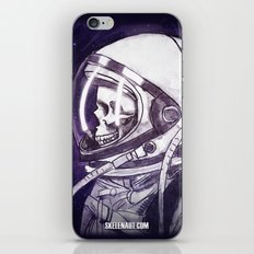 Skelenaut II iPhone & iPod Skin