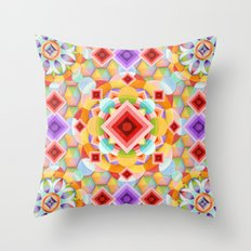 Harlequin Ombre Throw Pillow