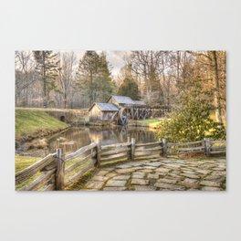 Mabry Mill - Dan Virginia Canvas Print