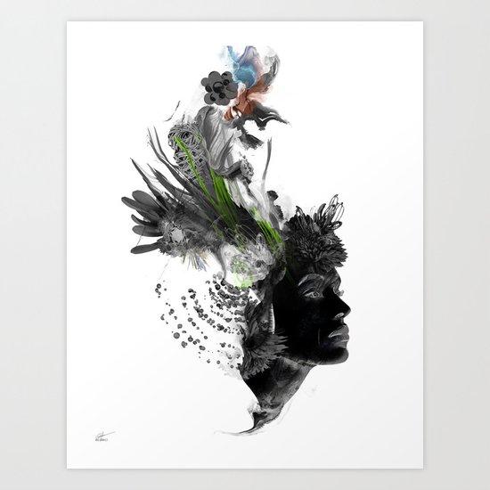 Seeded Art Print