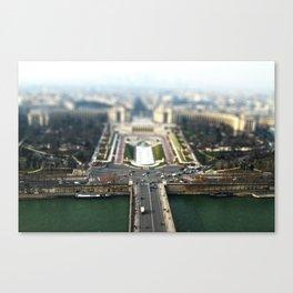 Small Paris Canvas Print
