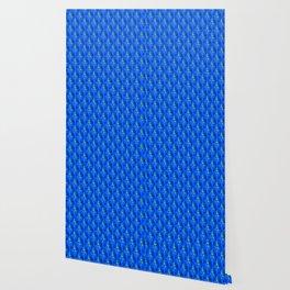Blue Clefs Wallpaper