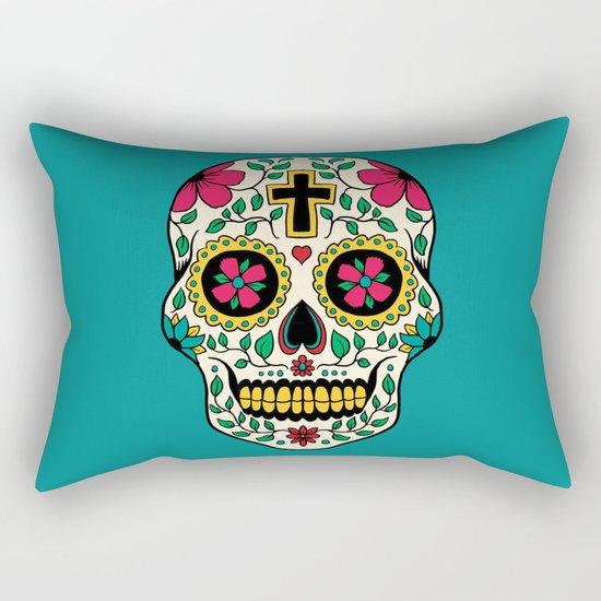 Skull Tattoo Rectangular Pillow