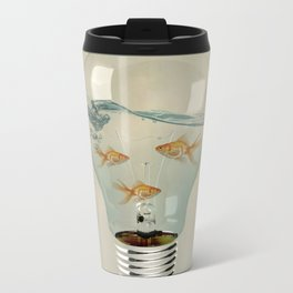 ideas and goldfish 03 Metal Travel Mug