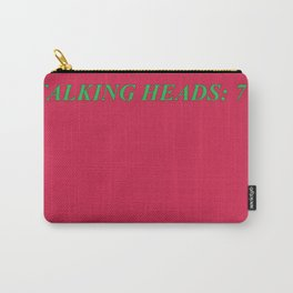 talking heads: 77 Carry-All Pouch
