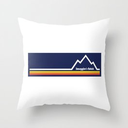 Smugglers' Notch, Vermont Throw Pillow