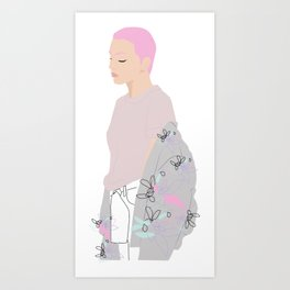 BOMBERJ Art Print