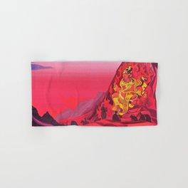 Nicholas Roerich - Command Of Rigden Djapo - Digital Remastered Edition Hand & Bath Towel