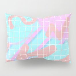 Fuzz Fly By 80s Background Pillow Sham