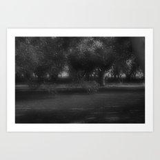 faery garden Art Print