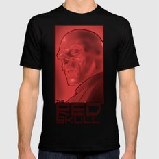 The Red Skull Black Mens Fitted Tee SMALL