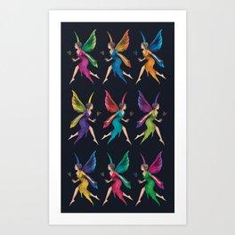 Fairy Dance Art Print