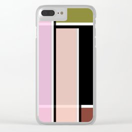 Arkansas , abstract Clear iPhone Case