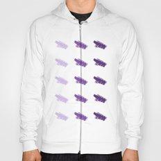 Monochrome Purple Hoody