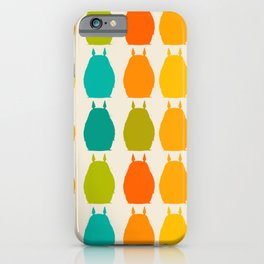 my neighbor pattern iPhone Case