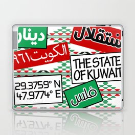 State of Kuwait Mix Laptop & iPad Skin