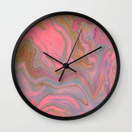 distortion Wall Clock