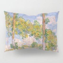 1891-Claude Monet- Poplars in the Sun-73 x 93 Pillow Sham