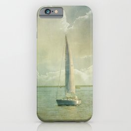 Catching the Wind iPhone Case
