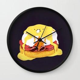 Egg Benedict Wall Clock