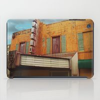 theater iPad Cases featuring The Crumbling Martin Theater by Little Bunny Sunshine