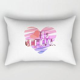 It's Official Rectangular Pillow