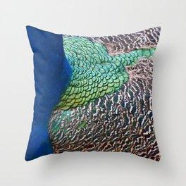 Iridescent Throw Pillow
