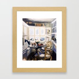 A Nook (Breakfast Only) Framed Art Print