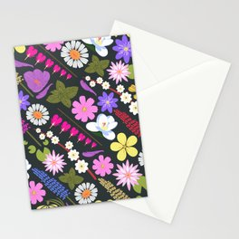 Flowers and mint Stationery Cards