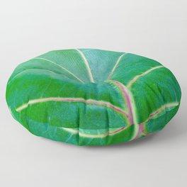 Green Leaf Floor Pillow