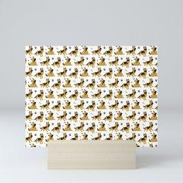 German Shepherd Puppies Mini Art Print