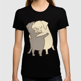 Labrador retriever Hugs T-shirt