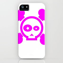 Skull Pop! iPhone Case