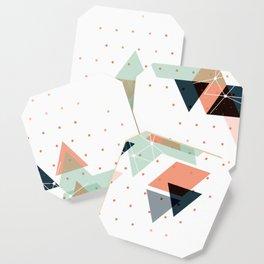 Midcentury geometric abstract nr 011 Coaster