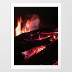 Bonfire2~takibi~ Art Print