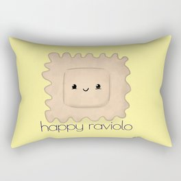 Happy Raviolo Rectangular Pillow